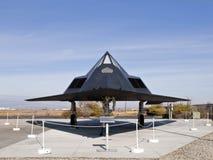 Avion du musée F-117 Photographie stock