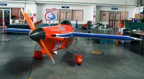 Avion du ` s de Ryszard Zadow aucun 15 derniers avions de ` de Lap Player de ` modèlent Cassutt III-M dans la coupe du monde de l image stock