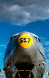 Avion en Berlin Tempelhof Photos libres de droits