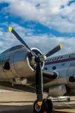 Avion en Berlin Tempelhof Photographie stock