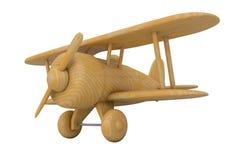 Avion en bois de jouet 3d rendent Photo stock