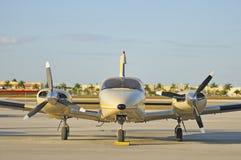 Avion exécutif Photos stock