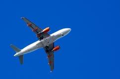 Avion het vliegen Royalty-vrije Stock Foto