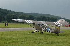 Avion historique photo stock