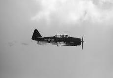 Avion historique de la deuxième guerre mondiale Images libres de droits