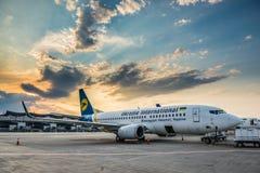 Avion à Kiev Images stock