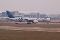 Avion méridional de compagnies aériennes de la Chine Photographie stock