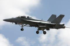 Avion militaire Photographie stock