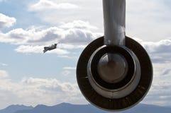 Avion militaire de cargaison Photographie stock libre de droits