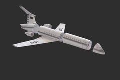 Avion modèle. Photos libres de droits