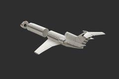 Avion modèle Photographie stock libre de droits