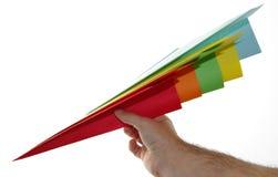 Avion Papier Lizenzfreie Stockfotos