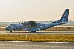 Avion polonais de l'Armée de l'Air photos libres de droits