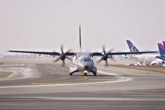 Avion polonais de l'Armée de l'Air images libres de droits
