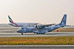 Avion polonais de l'Armée de l'Air image libre de droits