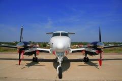 Avion pour des vols d'affaires Images stock