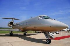 Avion pour des vols de VIP Photos libres de droits