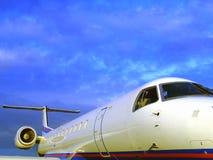 Avion privé luxueux Photographie stock libre de droits