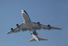 Avion à réaction de cargaison Image libre de droits
