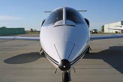 Avion à réaction de Lear Image libre de droits