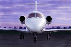 Avion à réaction de luxe Photo stock