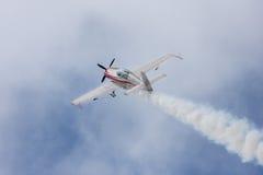 Avion rouge Photographie stock libre de droits