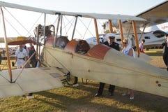 Avion royal de l'usine BE2C d'aéronefs Photographie stock libre de droits