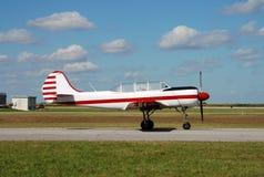 Avion russe de propulseur photo stock