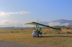 Avion scénique Pokhara Népal de vol Photographie stock libre de droits