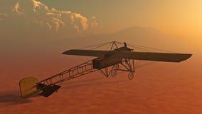 Avion tôt Bleriot XI illustration libre de droits