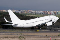 Avion at takeoff Stock Images