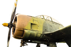 Avion thaïlandais de vintage image stock