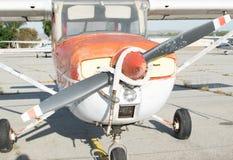 Avion verrouillé Image stock