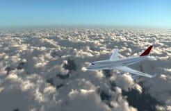 Avion vers l'avant à la came Photos libres de droits