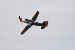 Avion YAK-52 Photographie stock