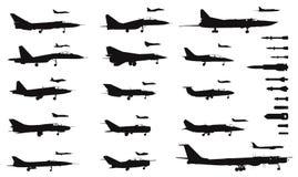 Aviones Imágenes de archivo libres de regalías