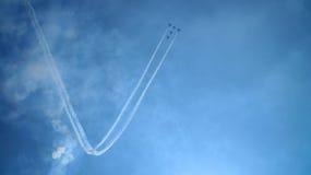 Aviones aeroacrobacias imagen de archivo