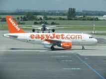Aviones Airbus A319-111 de Easyjet Imagen de archivo