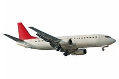 Aviones aislados Foto de archivo libre de regalías