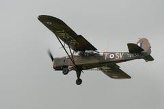 Aviones británicos de la marca 5 de Auster del vintage Imagen de archivo