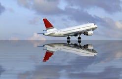 Aviones civiles Imagenes de archivo