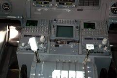Aviones cockpit1 fotos de archivo libres de regalías