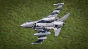 Aviones de avión de combate F-16 Imágenes de archivo libres de regalías