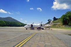 Aviones de Berjaya imagenes de archivo