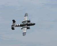 Aviones de bombardero del vintage Fotografía de archivo