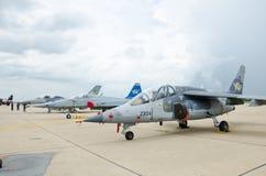 Aviones de combate Imágenes de archivo libres de regalías