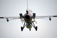 Aviones de combate F-16 en aire Fotografía de archivo