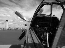 Aviones de combate P-51 Imágenes de archivo libres de regalías