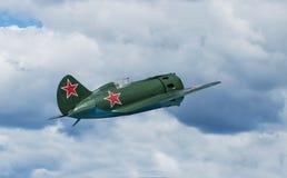 Aviones de combate soviéticos I-16 Imagen de archivo
