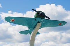 Aviones de combate soviéticos I-16 Imagenes de archivo